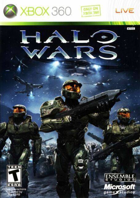 Halo Wars Xbox 360 One Compatible CIB Refurbished Includes Manual VG Free Ship