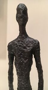BIG-MAN-STANDING-PURE-BRONZE-LOST-WAX-SCULPTURE-UNIQUE-ABSTRACT-ART-MADE-IN-UK