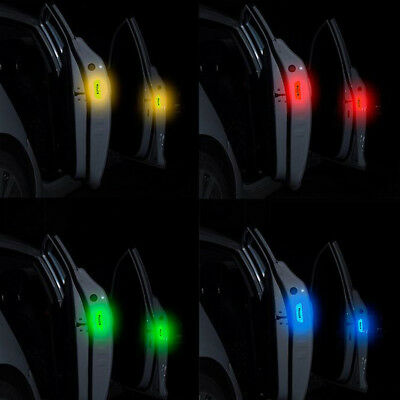 Safety Warning Reflective Tape Car Door Open Sticker Auto Decal Door Sticker 4X