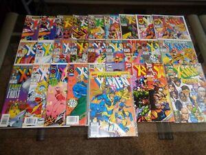 THE UNCANNY X-MEN (LOT OF 28 MARVEL COMICS) 148,155,162,171,194,257,281,284,