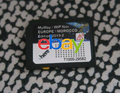 Carte SD GPS Europe Maroc RNEG 2019-2 Peugeot Citroen