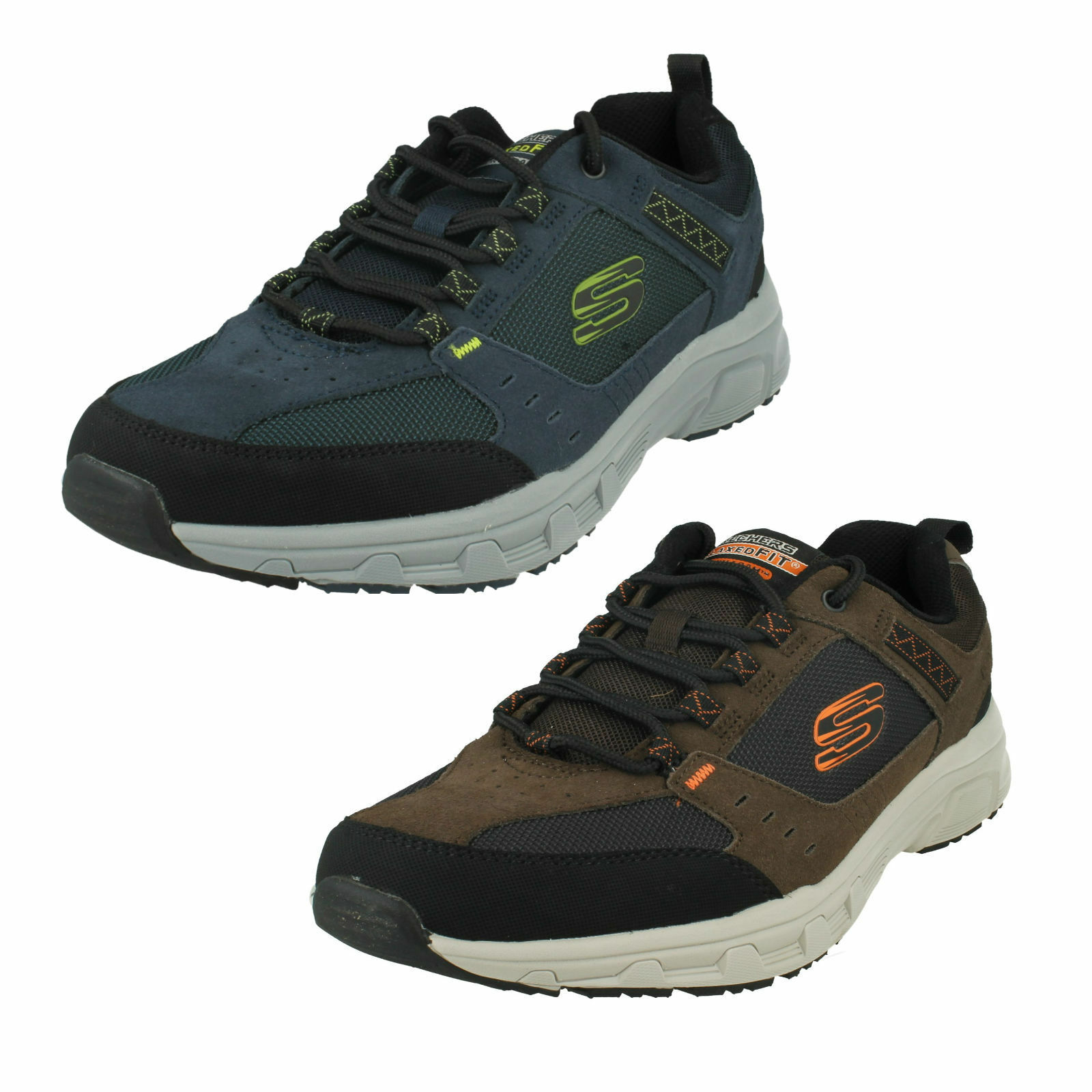 MENS SKECHERS OAK CANYON LACE UP MEMORY FOAM OUTDOORS CASUAL TRAINERS 51893