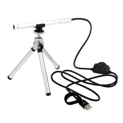 200X USB HD Digital Microscope Pen Endoscope Magnifier Camera 4LED Manual Focus