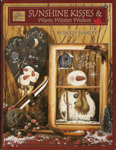 d6dfb3a49 Details about Sunshine Kisses and Warm Winter Wishes Vol. 1 Holly Hanley  Painting Book