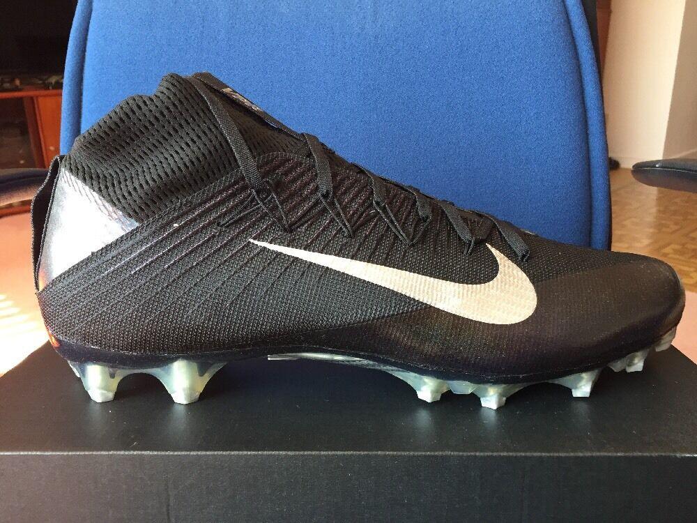 Nike vapor unantastbaren 2  stollen sz 16 schwarz metallic 824470-002 silber 824470-002 metallic adeb8b