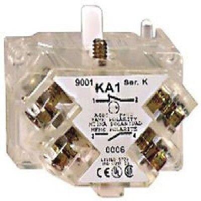 ( Pack Of 2 ) Schneider Electric 9001ka1 Contact Block, 1nc/1no, 30mm Een Lang Historisch Aanzien Hebben