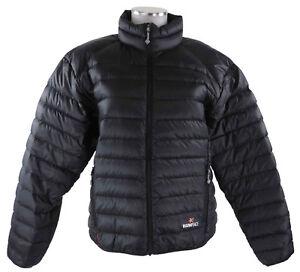 schwarz Daunenjacke zu jacket Colibri down leichte M Drake Details top Damen Warmpeace UpqzVGMS