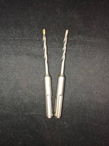 """Qty 2 SDS Rotary Hammer Drill Bits 3//16/"""" x 4 1//4/"""" fit Hilti Bosch DeWalt Mikita"""