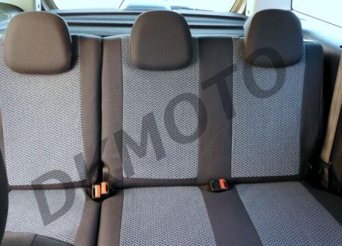 Tailored Seat Covers for Citroen Berlingo Multispace 2008-2018 full set grey 2