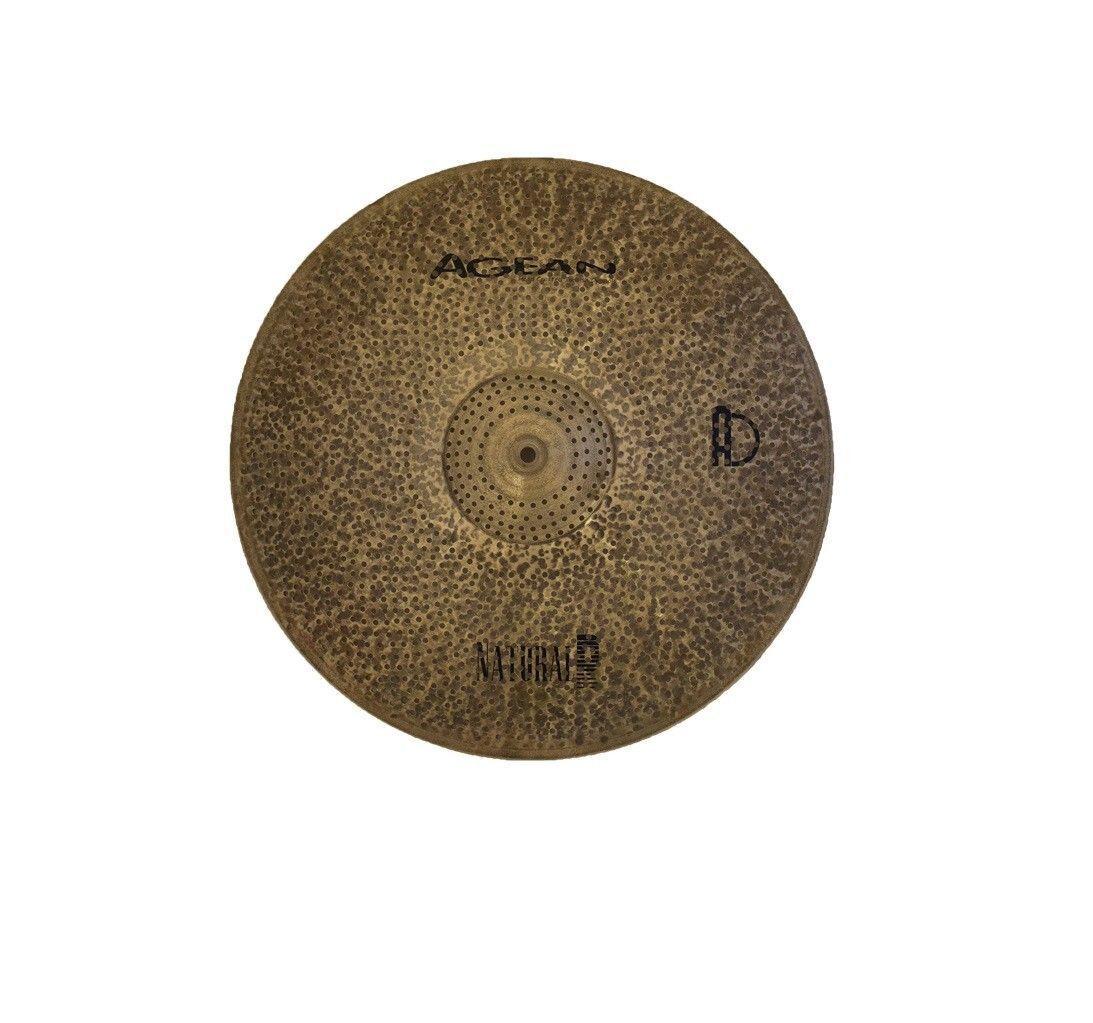 Agean Cymbals Natural R-Serie 10-Zoll Low Vol. Splash