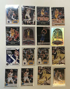 2019-20-PANINI-CHRONICLES-Golden-State-Warriors-16-Card-Lot-Curry-Paschall-Poole