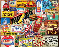 White Mountain Usa Jigsaw Puzzle 1000 Pieces Vintage Signs -