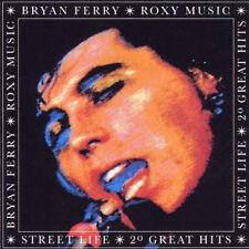 BRYAN FERRY / ROXY MUSIC - Street Life - 20 Great Hits (Best Of) - CD - NEUWARE
