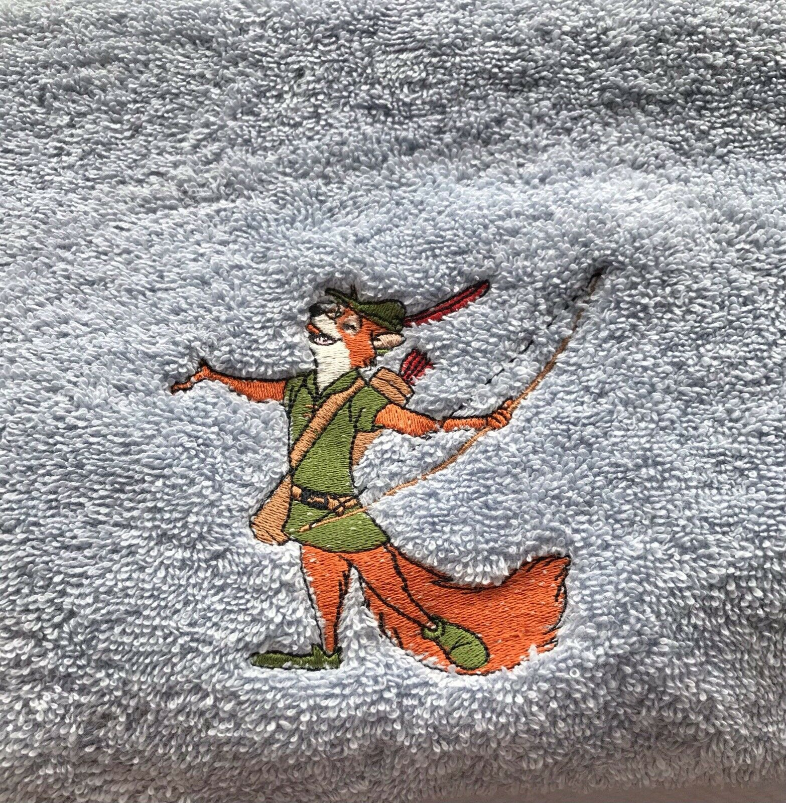 Blue Robin Hood Bath Towel