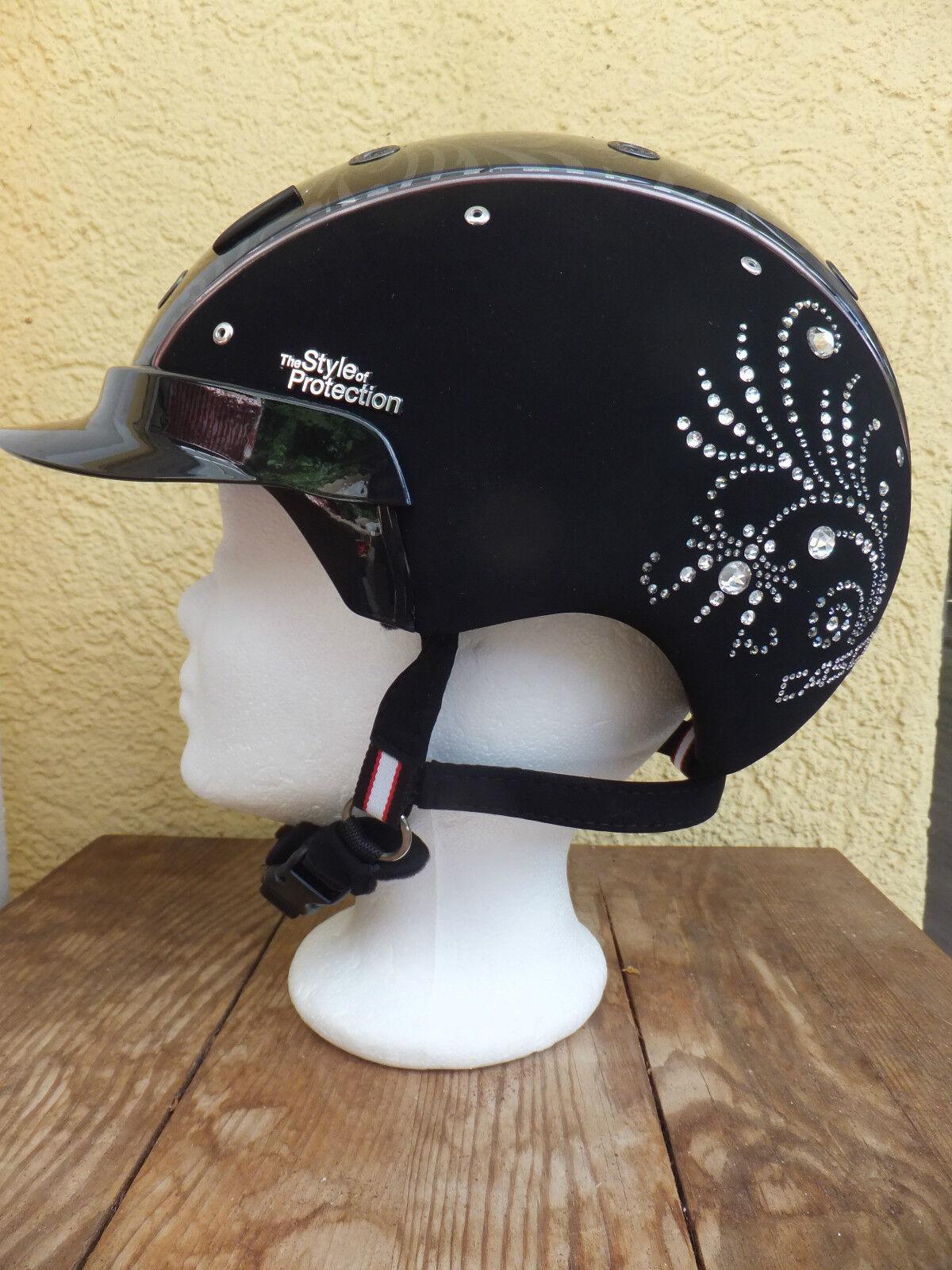 Reithelm casco Spirit - 6 Crystal floral vg1.01