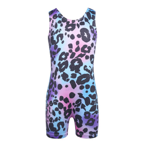 Toddler Girls Kids Gymnastics Leotard Ballet Dance Wear Sports Bodysuit Costume