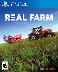 Details about REAL FARM PS4 NEW! BUY SELL CROPS LIVESTOCK, OPEN WORLD  COUNTRY, TRACTOR, HAYDAY
