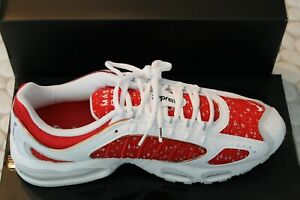 3aab31fb1c Nike Air Max Tailwind 4 IV Supreme White Red AT3854-100 Size 12 100 ...