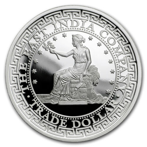2018 Niue 1 oz Silver Proof U.S Trade Dollar Restrike SKU#172523