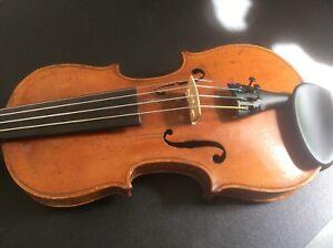 Antique 1/4 (petits) Taille De Violon-ll)size Violin Fr-fr Afficher Le Titre D'origine Parfait Dans L'ExéCution
