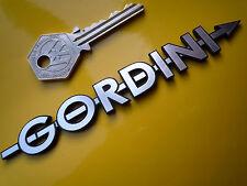 Gordini estilo de texto Autoadhesiva insignia del coche de corte láser Simca Tipo 15 Renault Clio
