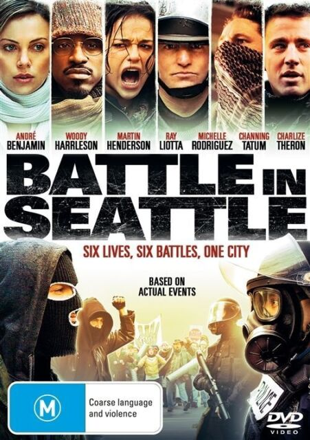 Battle In Seattle (DVD, 2009) Charlize Theron, Martin Henderson, Channing Tatum