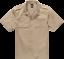 Brandit da Uomo Camicia Shirt US a maniche corte short sleeve BW Army Basic S fino a 9xl