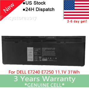 Battery-For-DELL-Latitude-E7240-Ultrabook-E7250-GVD76-WD52H-KWFFN-VFV59-HJ8KP
