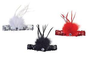 Burlesque-Mujer-Flapper-Charleston-diademas-Disfraz-Gatsby-anos-20-Accesorio