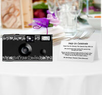 20 Vintage Frame Disposable Cameras-personalize-wedding Camera/anniversary