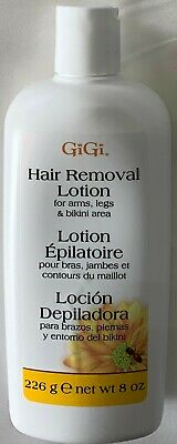 Gigi Hair Removal Lotion For Arms Bikini Legs 8 Oz Ebay