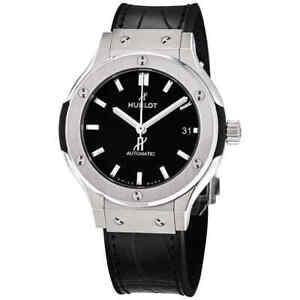Hublot Classic Fusion Automatic Mat Black Dial Men's Watch 565.NX.1171.LR