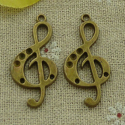 Free Ship 35 pieces bronze plated angel charms 20x20mm #846