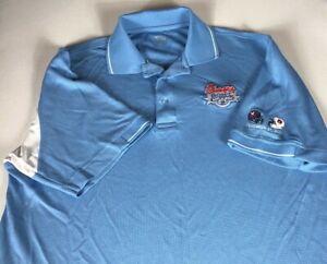 Auburn Tigers Winner Polo Shirt Mens Large Chick-Fil-A Peach Bowl 2011 Virginia