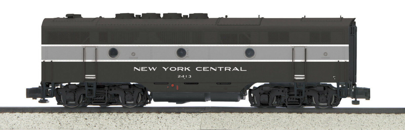 MTH S Gauge New York Central F-3 B-Unit w PS-3 Sound and DCC 35-20009-1