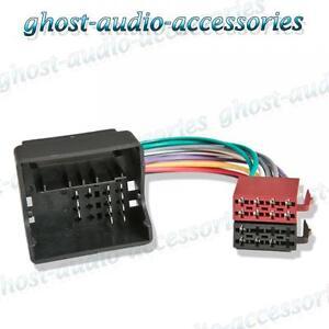Ford Focus Quadlock Radio Wiring ISO Harness Headunit Connector Loom | eBayeBay