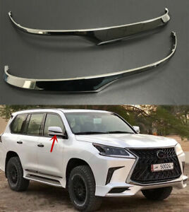 Details About Special Black Edition Rearview Mirrors Decoration For Lexus Lx570 2015 2019