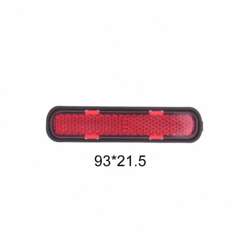 mountain bicycle tail safety warning lamp cycling bike rear reflector light WY