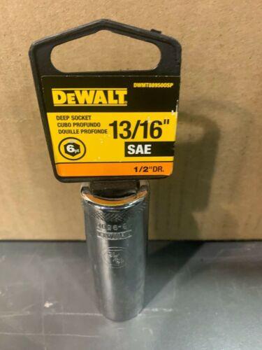 "DEWALT 1//2/"" DRIVE 12 POINT METRIC SOCKETS SELECT SIZE CHROME MW"