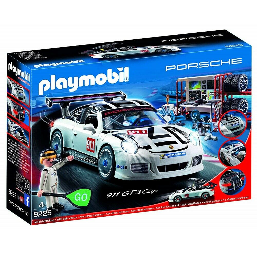 Playmobil Sports & Action 9225 Porsche 911 GT3 Cup Toy