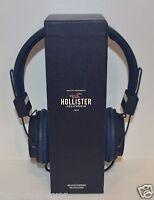 Hollister Blue Headphones Tablet Smartphone Mp3 Computer Slightly Damaged