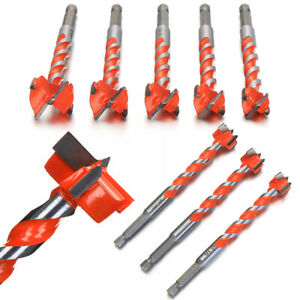 Woodworking-Hole-Saw-Cutter-Forstner-Drill-Bit-Wood-Drilling-1-4-034-Hex-Shank