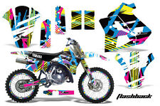 YAMAHA WR 250Z Graphic Kit AMR Racing # Plates Decal Sticker Part 91-93 FSHB