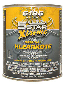 5 Star Extreme Orig Urethane Clearcoat w/ FAST Activator Gallon Kit