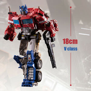 New-SS38-Optimus-Prime-Transformers-7in-Alloy-Level-V-Action-Figure-Kid-Gift-Toy