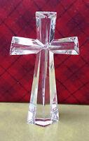Teleflora Gift Fine Bohemian 24% Lead Crystal Crucifix Cross ~ Czech Republic