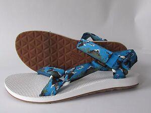 Teva Original Universal Men's Eagle Printed Classic Three-strap Sport Sandals