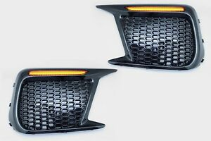 Sequential-LED-Turn-Signal-Daytime-Lights-Non-Fog-For-2018-up-Subaru-WRX-STI