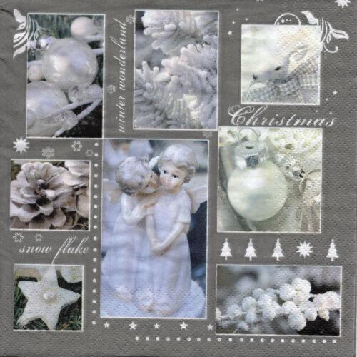 4 Motivservietten Servietten Napkins Basteln Weihnachten Nostalgie 1037