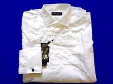 New Ralph Lauren Black Label 100% Cotton Tuxedo Front Dress Shirt SLIM sz 15
